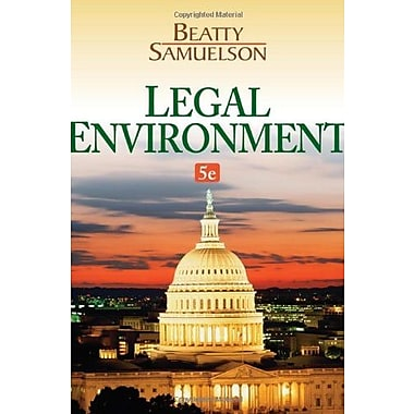 Legal Environment, Used Book (9781133587491)