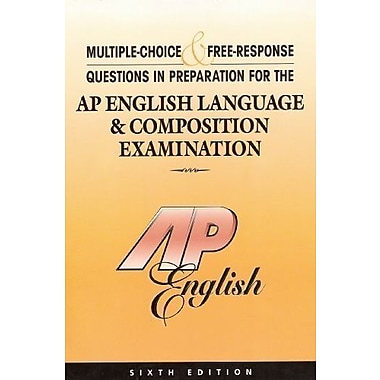 Preparation for the AP English Language & Composition Examination, Used Book (9781878621924)
