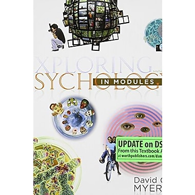 Exploring Psychology in Modules (Paper), (9781464111730)