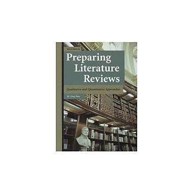 Preparing Literature Reviews: Qualitative and Quantitative Approaches, Used Book (9781884585760)