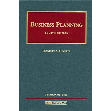 Gevurtz's Business Planning, 4th (University Casebook Series) (English and English Edition), New Book (9781599411491)