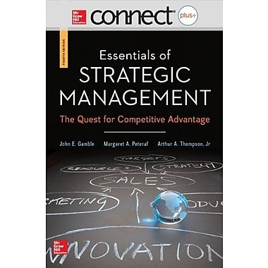Connect Plus Management 1 Semester Access Card for Essentials of Strategic Management, New Book (9781259161193)