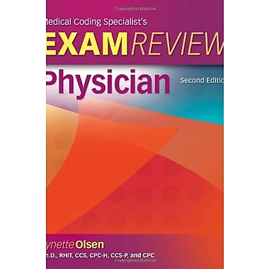 Medical Coding Specialists's Exam Review-Physician, New Book (9781111131760)