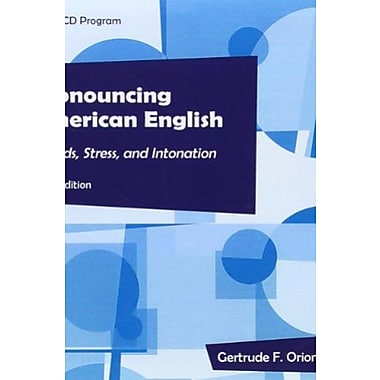 Pronouncing American English Audio CDs (10), New Book (9781111352110)