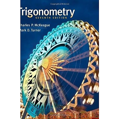 Trigonometry, Used Book (9781111826857)