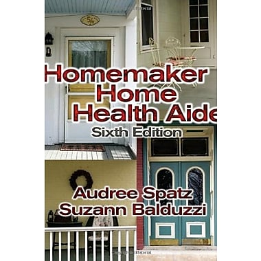 Homemaker Home Health Aide, New Book (9781401831394)