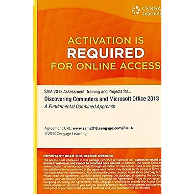 Assessment, Training and Projects with MindTap Reader for Discovering Computers & Microsoft Office 2013, Used Book