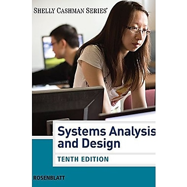 Systems Analysis and Design (Book Only) (Shelly Cashman), Used Book (9781285422701)