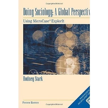 Doing Sociology: A Global Perspective, New Book (9781111830229)