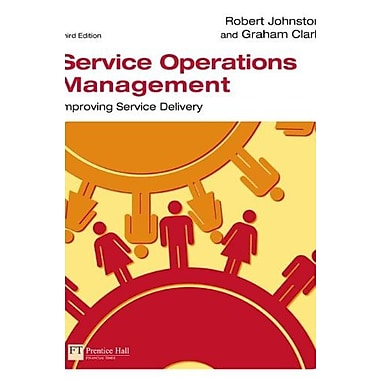 Service Operations Management (3rd Edition), Used Book (9781405847322)