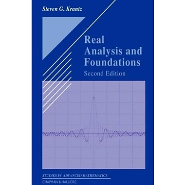 Real Analysis and Foundations, Second Edition (Textbooks in Mathematics), Used Book (9781584884835)