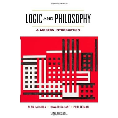 Logic and Philosophy: A Modern Introduction, New Book (9781133050001)