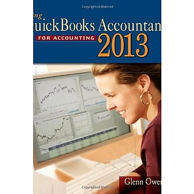 Using Quickbooks Accountant 2013 (with CD-ROM and Data File CD-ROM) (9781285089454)