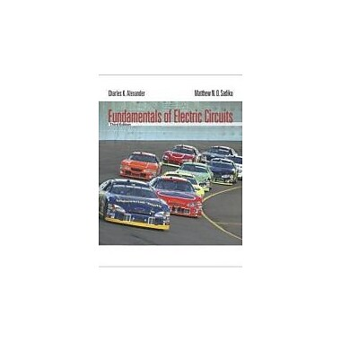 Fundamentals of Electric Circuits, New Book (9780073301150)