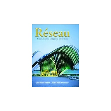 Reseau: Communication, Integration, Intersections (9780132413923)