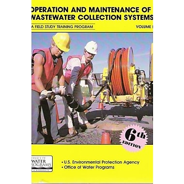 Operation and Maintenance of Wastewater Collection Systems, New Book (9781884701436)