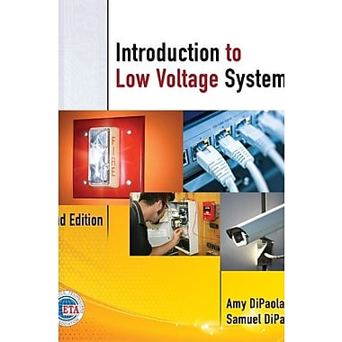 Introduction to Low Voltage Systems, 2nd Edition, New Book (9781111639532)