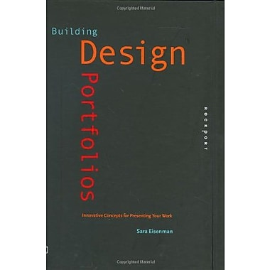 Building Design Portfolios: Innovative Concepts for Presenting Your Work (Design Field Guides), Used Book (9781592532230)