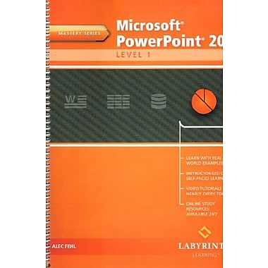 Microsoft PowerPoint 2013: Level 1, Mastery Series (9781591364948)