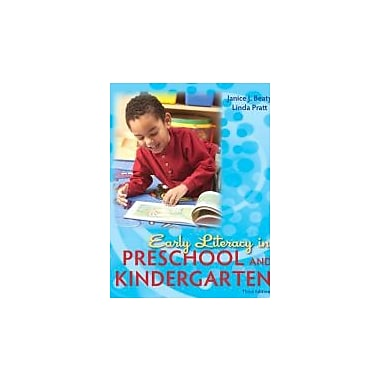 Early Literacy in Preschool and Kindergarten (3rd Edition), Used Book (9780137056989)