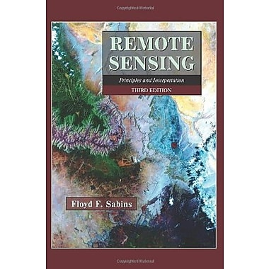 Remote Sensing: Principles and Interpretation, Used Book (9781577665076)