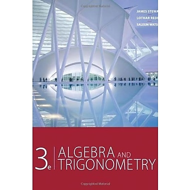 3e Algebra and Trigonometry, New Book (9781133533467)