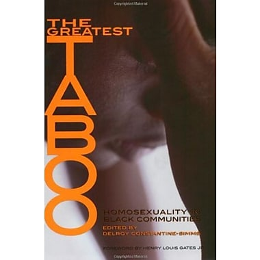 The Greatest Taboo: Homosexuality in Black Communities, Used Book (9781555835644)