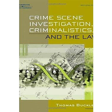 Crime Scene Investigation, Criminalistics, and The Law, New Book (9781401859299)