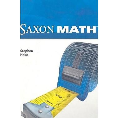 Saxon Math Intermediate 5, New Book (9781600325465)