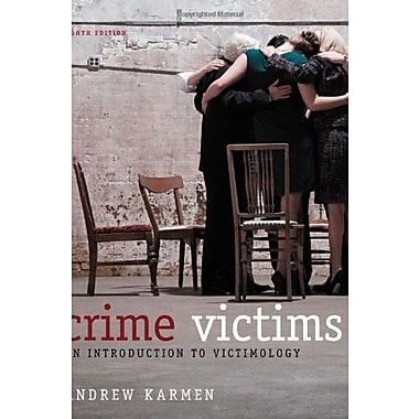 Crime Victims: An Introduction to Victimology, Used Book (9781133049722)
