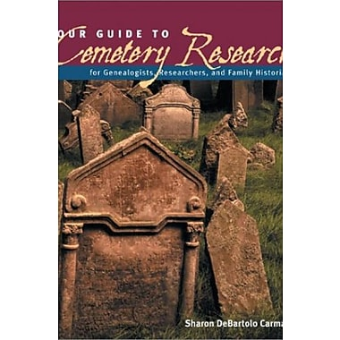 Your Guide to Cemetery Research, New Book (9781558705890)
