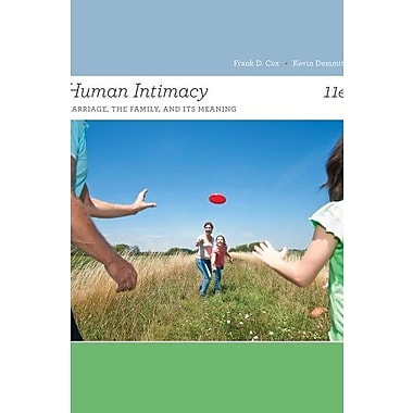 Human Intimacy: Marriage, the Family, and Its Meaning, New Book (9781133947769)