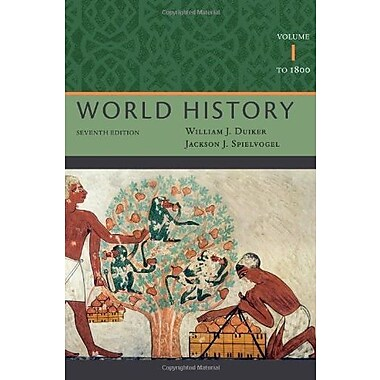 World History, Volume I: To 1800, Used Book (9781111831660)