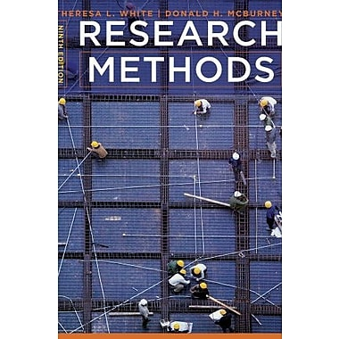 Cengage Advantage Books: Research Methods (9781133591344)