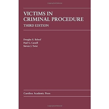 Victims in Criminal Procedure, New Book (9781594607387)