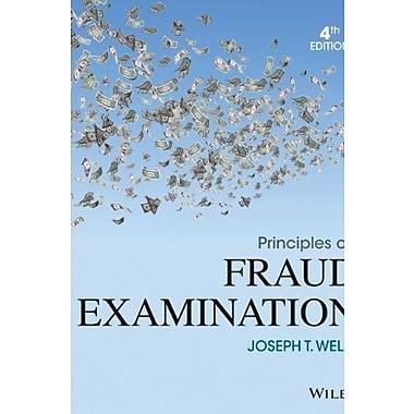Principles of Fraud Examination, Used Book (9781118582886)