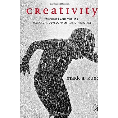 Creativity: Theories and Themes: Research, Development, and Practice, New Book (9780126024005)