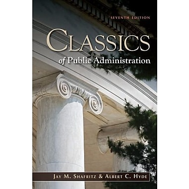 Classics of Public Administration, New Book (9781111342746)