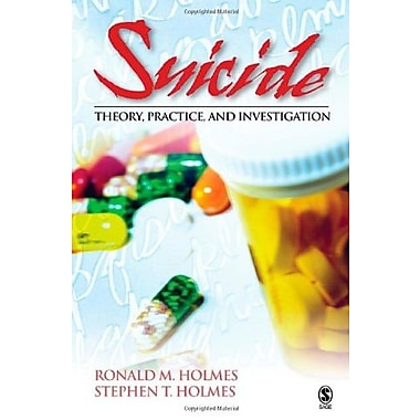 Suicide: Theory, Practice and Investigation, New Book (9781412910101)