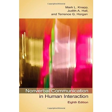 Nonverbal Communication in Human Interaction, New Book (9781133311591)