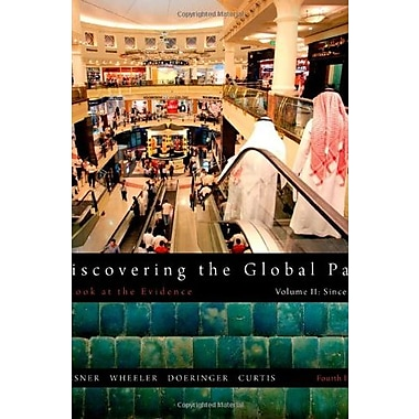 Discovering the Global Past, Volume II, New Book (9781111341435)