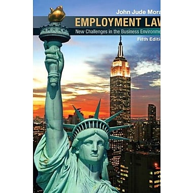 Employment Law (5th Edition), New Book (9780136088790)