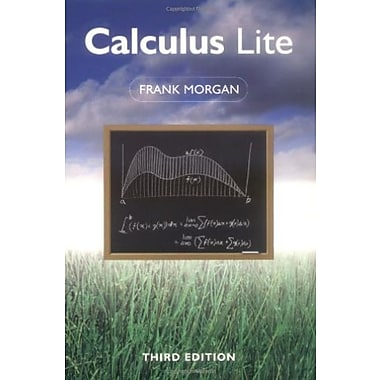 Calculus Lite, Third Edition, New Book (9781568811574)