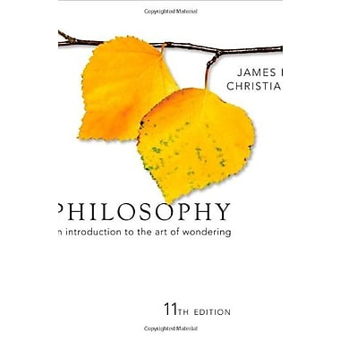 Philosophy: An Introduction to the Art of Wondering, New Book (9781111298081)