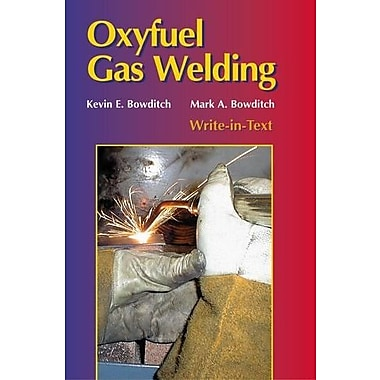 Oxyfuel Gas Welding, New Book (9781590703007)