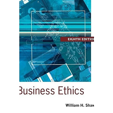 Business Ethics: A Textbook with Cases, New Book (9781133943075)