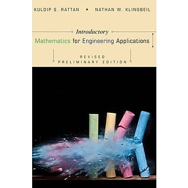 Introductory Mathematics for Engineering Applications, New Book (9781118466162)