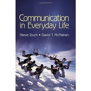 Communication in Everyday Life, Used Book (9781412969574)