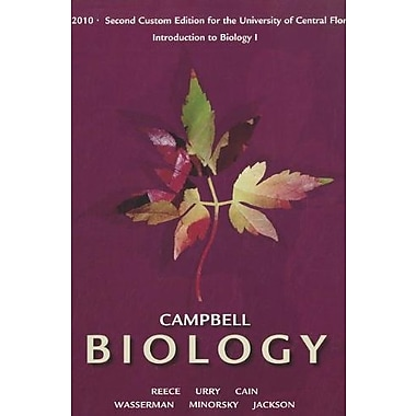 Campbell Biology: Custom Edition for the University of Central Florida: Intro. to Biology 1 BSC 2010, Used Book (9781256288527)