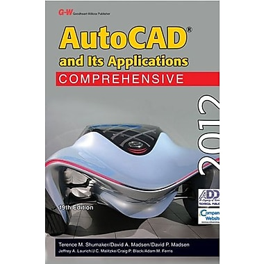 AutoCAD and Its Applications Comprehensive 2012, New Book (9781605255651)